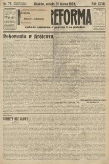 Nowa Reforma. 1928, nr75