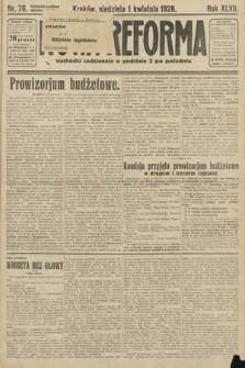 Nowa Reforma. 1928, nr76