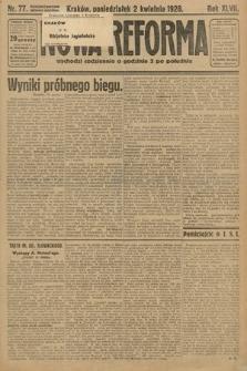 Nowa Reforma. 1928, nr77