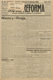 Nowa Reforma. 1928, nr84