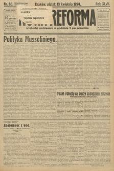 Nowa Reforma. 1928, nr85