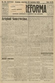 Nowa Reforma. 1928, nr93
