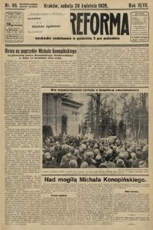 Nowa Reforma. 1928, nr98