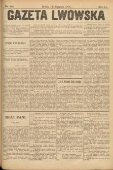 Gazeta Lwowska. 1901, nr185