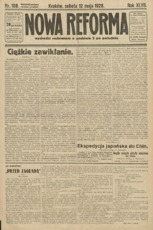 Nowa Reforma. 1928, nr108
