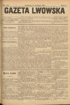 Gazeta Lwowska. 1901, nr186