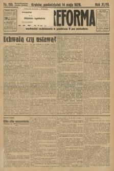 Nowa Reforma. 1928, nr110