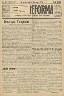Nowa Reforma. 1928, nr113