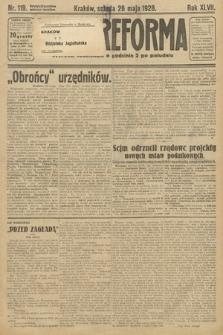 Nowa Reforma. 1928, nr119