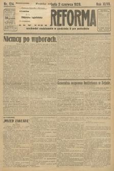 Nowa Reforma. 1928, nr124