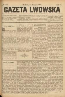 Gazeta Lwowska. 1901, nr188
