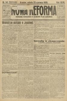 Nowa Reforma. 1928, nr141