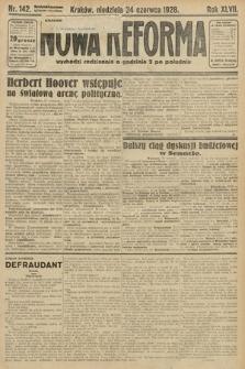 Nowa Reforma. 1928, nr142