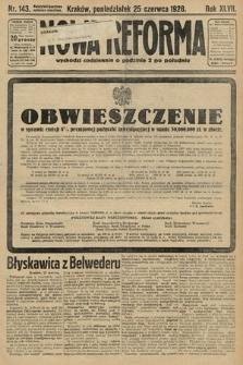 Nowa Reforma. 1928, nr143