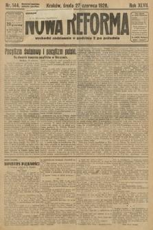 Nowa Reforma. 1928, nr144
