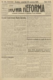 Nowa Reforma. 1928, nr145