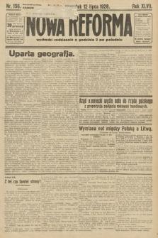 Nowa Reforma. 1928, nr156