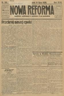 Nowa Reforma. 1928, nr160