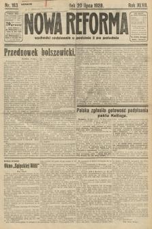 Nowa Reforma. 1928, nr163