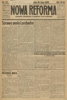 Nowa Reforma. 1928, nr172