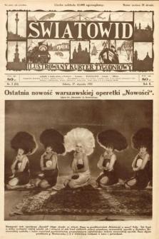Światowid : ilustrowany kuryer tygodniowy. 1925, nr3