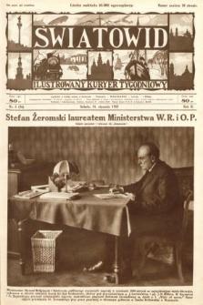 Światowid : ilustrowany kuryer tygodniowy. 1925, nr5