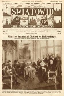 Światowid : ilustrowany kuryer tygodniowy. 1925, nr9