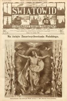 Światowid : ilustrowany kuryer tygodniowy. 1925, nr15