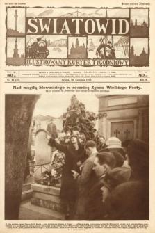 Światowid : ilustrowany kuryer tygodniowy. 1925, nr16
