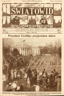 Światowid : ilustrowany kuryer tygodniowy. 1925, nr19