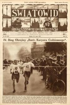 Światowid : ilustrowany kuryer tygodniowy. 1925, nr22