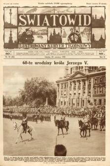 Światowid : ilustrowany kuryer tygodniowy. 1925, nr24