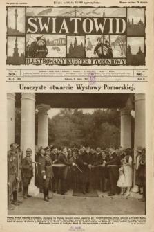 Światowid : ilustrowany kuryer tygodniowy. 1925, nr27