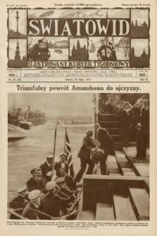 Światowid : ilustrowany kuryer tygodniowy. 1925, nr29