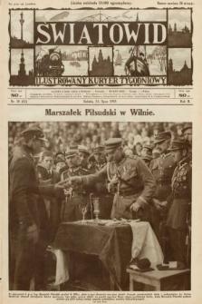 Światowid : ilustrowany kuryer tygodniowy. 1925, nr30