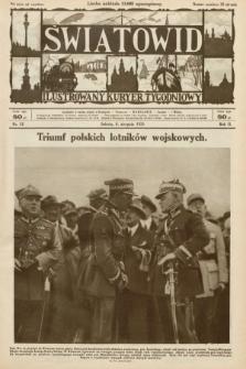 Światowid : ilustrowany kuryer tygodniowy. 1925, nr32