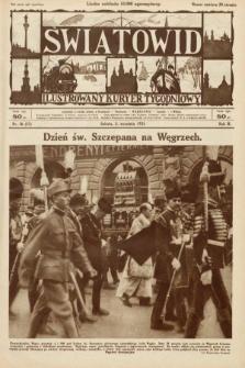 Światowid : ilustrowany kuryer tygodniowy. 1925, nr36