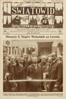 Światowid : ilustrowany kuryer tygodniowy. 1925, nr37