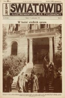 Światowid : ilustrowany kuryer tygodniowy. 1925, nr42
