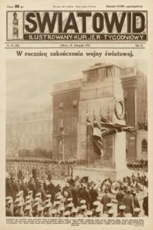 Światowid : ilustrowany kuryer tygodniowy. 1925, nr47