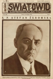 Światowid : ilustrowany kuryer tygodniowy. 1925, nr48