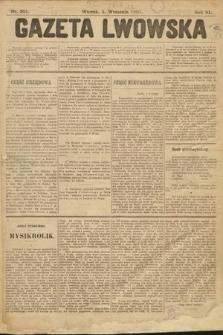 Gazeta Lwowska. 1901, nr201