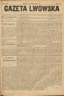 Gazeta Lwowska. 1901, nr211