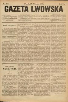 Gazeta Lwowska. 1901, nr213