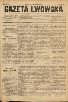 Gazeta Lwowska. 1901, nr214