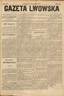 Gazeta Lwowska. 1901, nr217