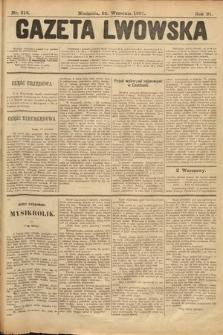 Gazeta Lwowska. 1901, nr218