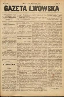 Gazeta Lwowska. 1901, nr219