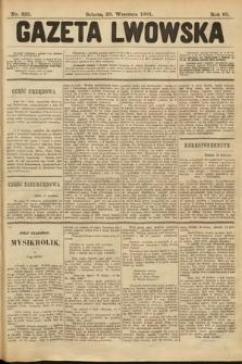 Gazeta Lwowska. 1901, nr223