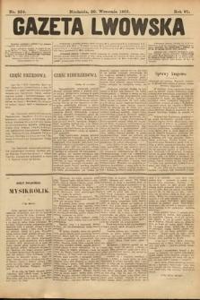 Gazeta Lwowska. 1901, nr224